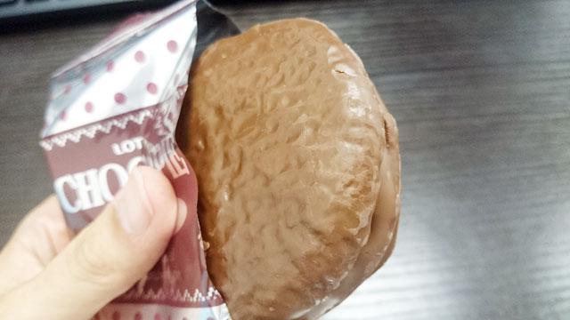ロッテ チョコパイ <女王のショコラベリー> レビュー