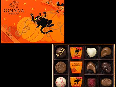 12粒入り!GODIVAがたくさん味わえるハロウィン限定チョコレートアソート