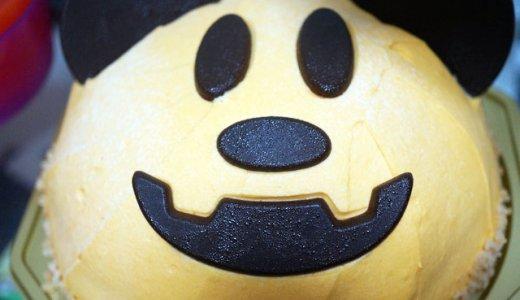 JOYJOYハロウィンパンプキンケーキ(ミッキーマウス)を一足お先に食べてみました