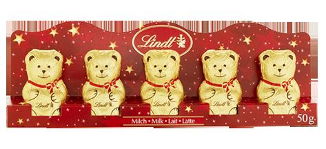 【リンツのクリスマス特集2017】可愛いリンツテディのチョコレートのギフトセット