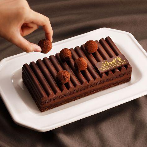 リンツクリスマスケーキ