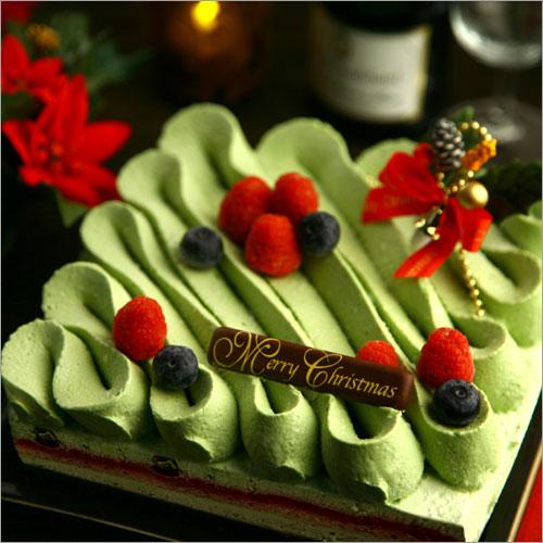 宇治抹茶チョコレートケーキ