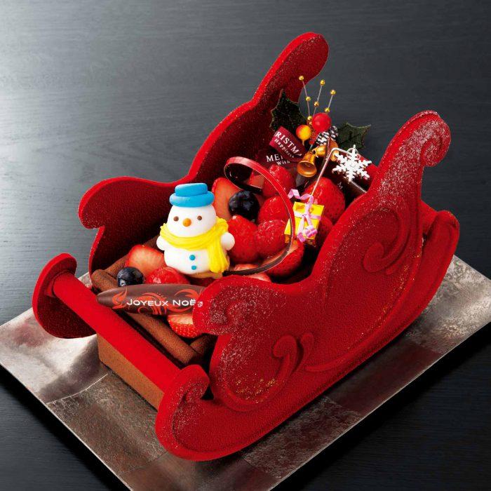 まだ間に合う!見た目のインパクトが大きいチョコレートのクリスマスケーキまとめ
