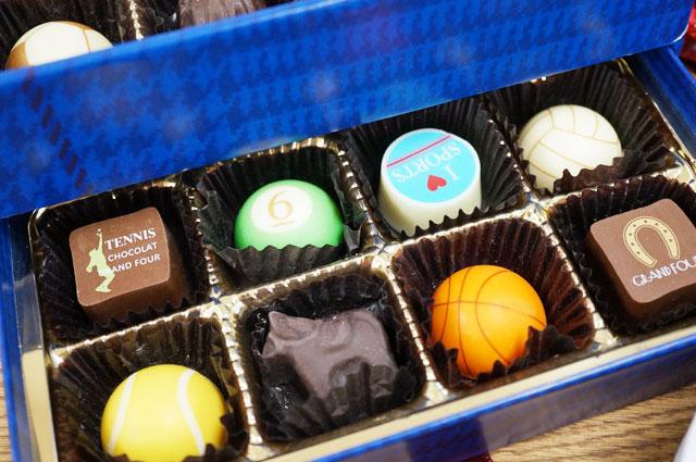 【バレンタイン2018】スポーツ好きな相手に贈るのにおすすめ!Grand Four(グランフール)のチョコレート