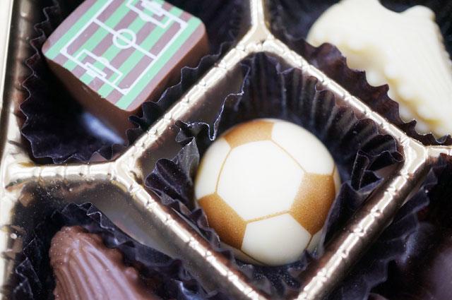 サッカーショコラ