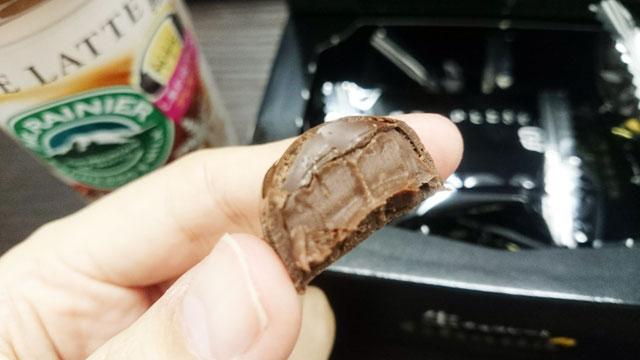 ガーナ生チョコレートブラック
