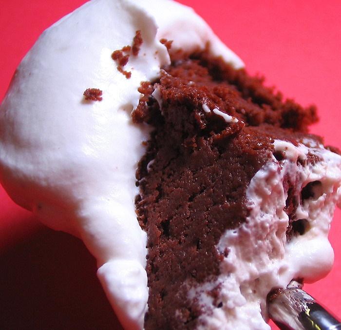 禁断の生チョコケーキ