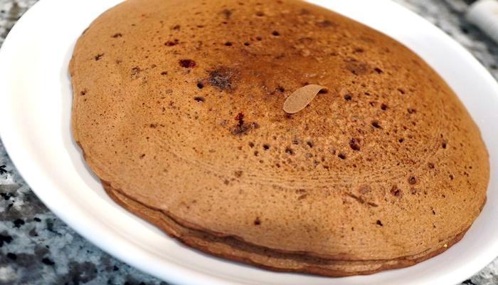 ダブルチョコミントのパンケーキミックス