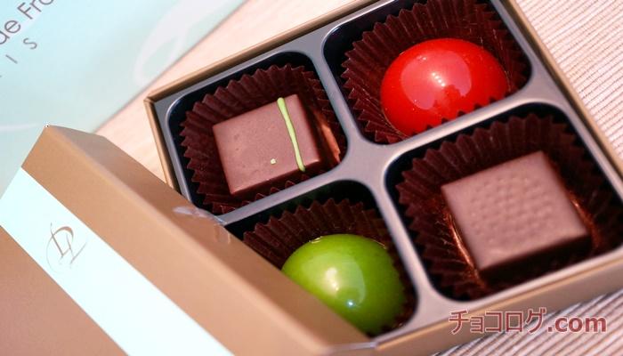 【サロンデュショコラ2018】ローラン・デュシェーヌのショコラアソートレビュー