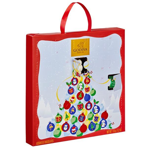 GODIVAクリスマス カレンダー 24粒